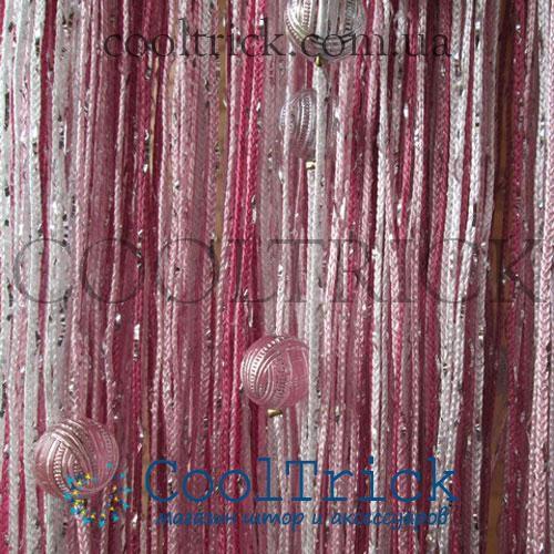 Радуга дождь с Бусинами №1+5+6